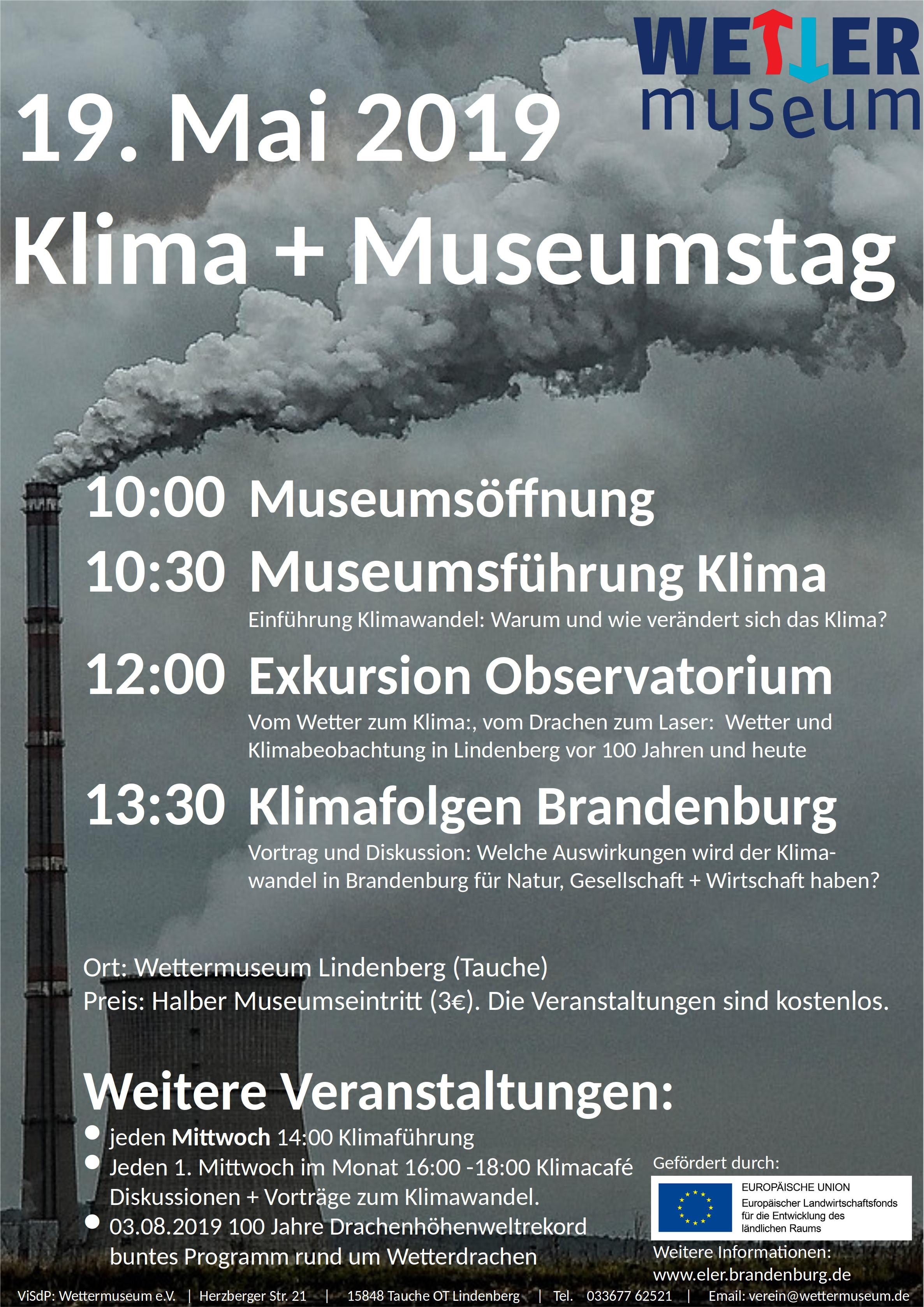 2019 01 Museumstag Plakat